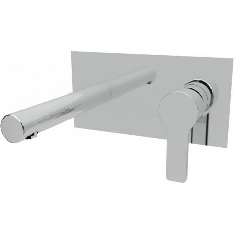 Встраиваемый смеситель на раковину без донного клапана CEZARES DOLCE-BLS2-01-W0