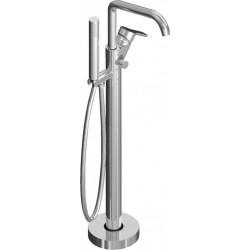 Напольный смеситель для ванны с ручным душем CEZARES DOLCE-VDP-01-Cr