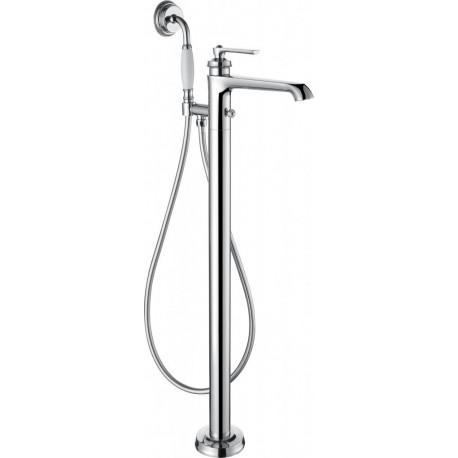 Напольный смеситель для ванны с ручным душем CEZARES LIBERTY-F-VDP-01