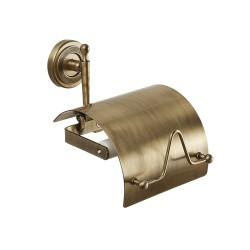 Держатель для туалетной бумаги с крышкой ROYAL