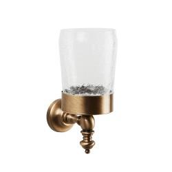 VINTAGE настенный стакан с держателем стекло