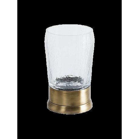 VINTAGE стакан настольный на держателе стекло