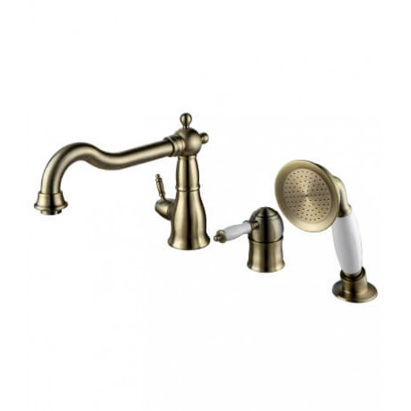 Смеситель для ванны на 3 отверстия с поворотным изливом – LM4845B