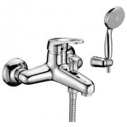 Смеситель для ванны с коротким изливом, керамич. картридж 35 мм Sedal, с аксессуарами